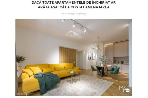 2020 Design Therapy (Rent Apartment)
