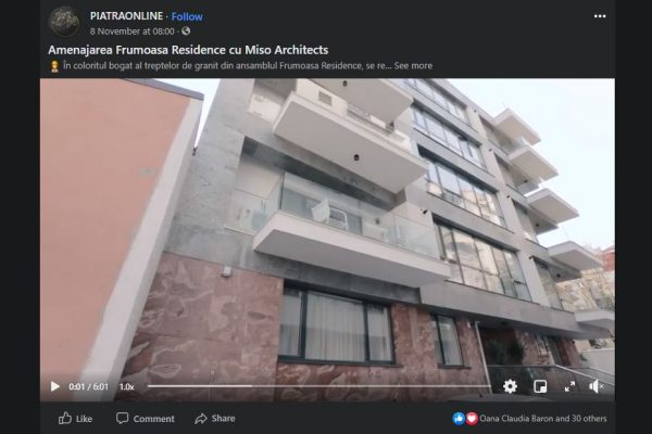 2020.Piatra Online (Frumoasa Residence)