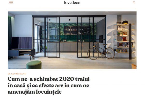 2021.LoveDeco (Cum ne-a schimbat 2020 traiul în case) - martie