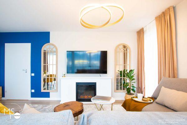 design interior spectaculos pentru living